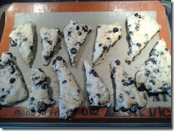 Blueberry Scones Raw June 21 2012