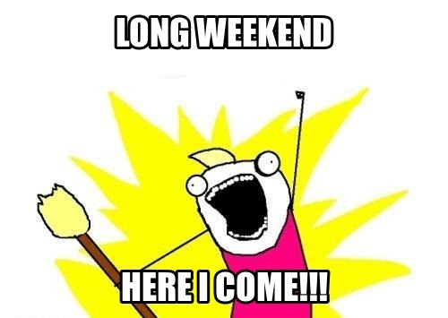 Another Long Weekend for August 2012