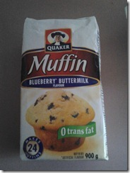 Muffin Mix August 13 2012