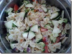 Pasta Salad August 7 2012