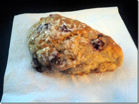 Cranberry Orange Scone September 28 2012
