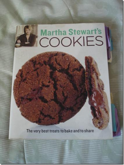 Martha Stewart's Cookies September 13 2012