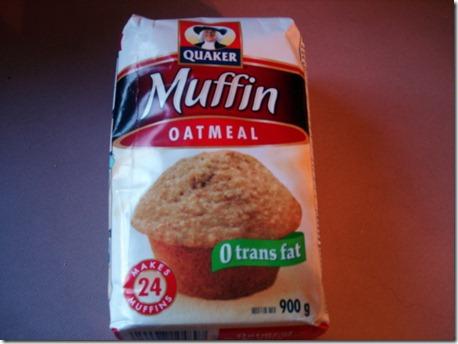 Oatmeal Muffins September 1 2012