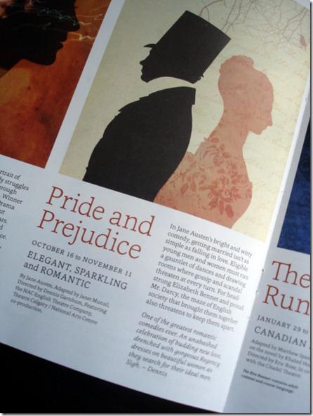 Pride and Prejudice Tickets September 8 2012 (1)