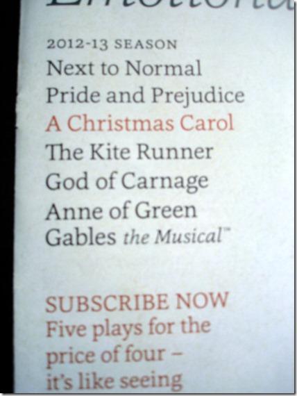 Pride and Prejudice Tickets September 8 2012