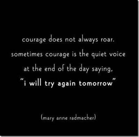 Courage October 18 2012