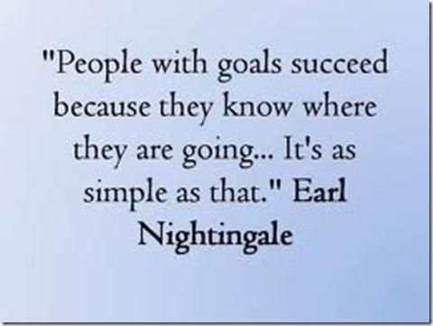 Goals 4 October 12 2012
