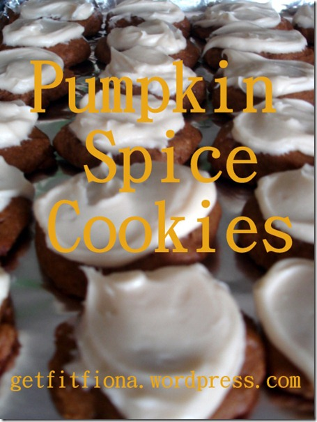 Pinterest Pumpkin Cookies