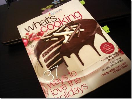 Christmas Baking November 8 2012