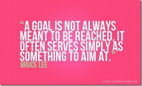Goals November 1 2012