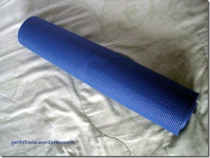 Yoga Mat Birthday November 14 2012
