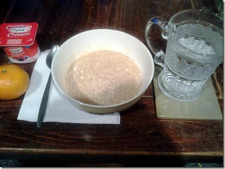 Breakfast WIAW December 5 2012
