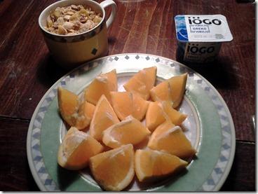 Breakfast WIAW January 6 2013