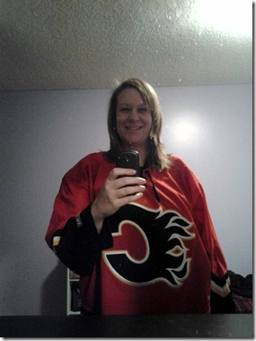 Me in Flames Jersey January 26 2013