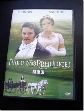 Pride and Prejudice DVD January 11 2013