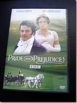 Pride and Prejudice DVD January 11 2013