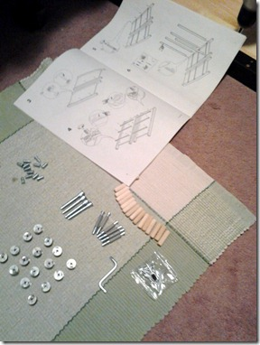 Putting Together New Dresser January 25 2013