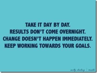 Goals February 7 2013