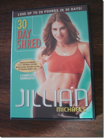 30 Day Shred DVD March 2 2013