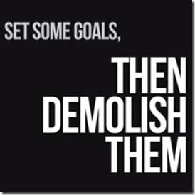 Goals April 2013