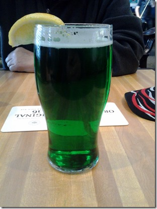 Green Beer March 17 2013