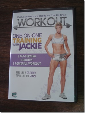 One on One Training with Jackie DVD March 16 2013